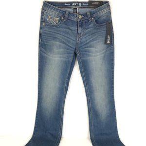 Apt. 9 Embellished Denim Bootcut Jeans size 4